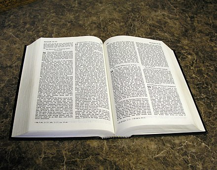 A Bible open to the Book of Isaiah Open bible isaiah.jpg