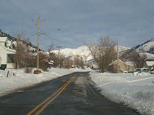 Ophir, Utah - Ophir in winter, December 2007