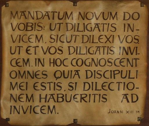 Opus Dein keskuksessa oleva juliste
