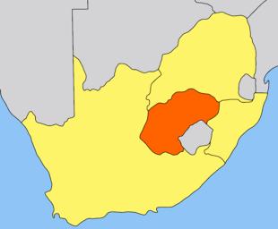 Oranje Vrijstaat map.png