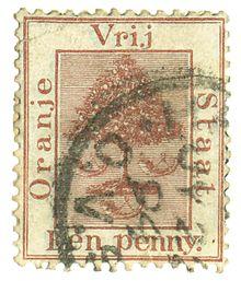 Francobollo da 1 penny