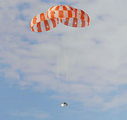 Orion parachute test