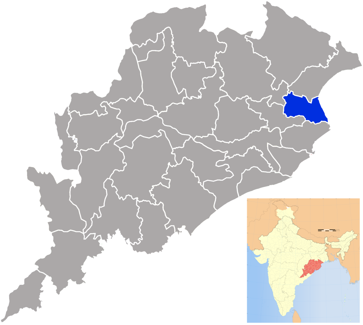 Bhadrak district - Wikipedia