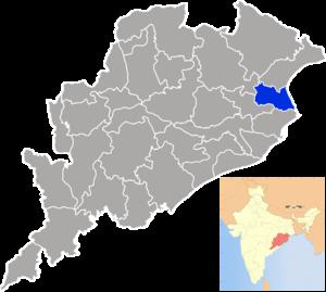 Bhadrak district - Image: Orissa Bhadrak