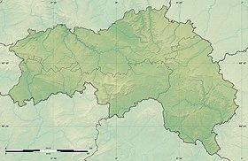 Voir sur la carte topographique de l'Orne
