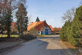 Balge - Image: Ortsblick in Balge IMG 0012