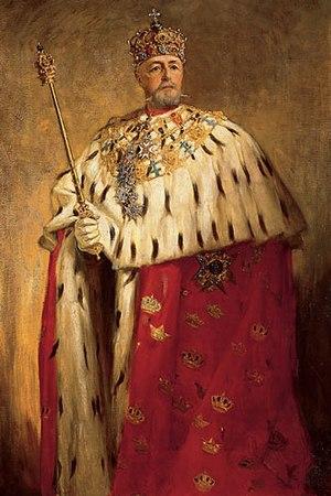 Oscar II of Sweden painted by Oscar Björck (original).jpg