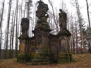 Statue of Faith with Saints John and Paul
