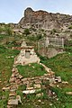 Osh 03-2016 img38 Cemetery at the Sulayman Mountain.jpg
