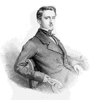Oskar Begas - Self-portrait (1852)