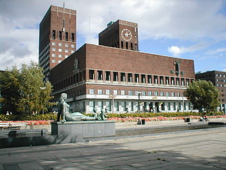 Oslo City Hall - Image: Oslo rådhus 2