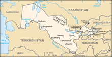 Description de l'image Ouzbekistan carte.png.