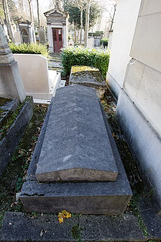 Paul Gachet - Doctor Gachet's tomb.