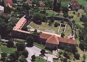 Pécsvárad Abbey - Remains of the Pécsvárad Abbey