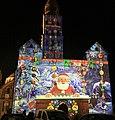 Périgueux - Façade de la cathédrale - Noël 2019 -1.jpg