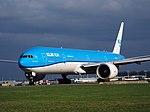 PH-BVC KLM Royal Dutch Airlines Boeing 777-306(ER) at Schiphol (AMS - EHAM), The Netherlands pic4.JPG
