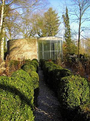 Erwin Heerich - Graubner-Pavillon, Museum Insel Hombroich