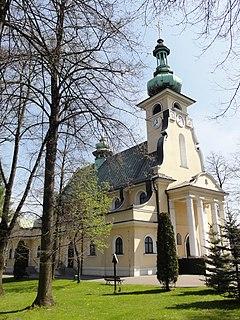 Chybie Village in Silesian Voivodeship, Poland