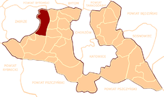 POL Gmina Ruda in Katowice County 1946.png