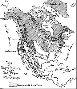 PSM V30 D013 Map of north america during the ice age.jpg