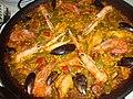 Paella Valenciana, gastronomía de Torreblanca.jpg