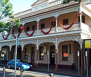 Childers, Queensland - The rebuilt Palace Hotel