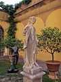 Palazzo medici riccardi, giardino, statua 03.JPG
