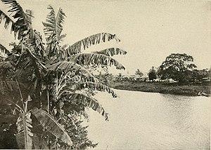 Grande River (Panama) - River in 1910.