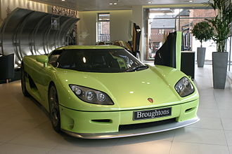 Koenigsegg - Koenigsegg CCR at Broughtons, Berkshire, UK