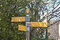 Panneau randonnée Lagarde d'Apt.JPG