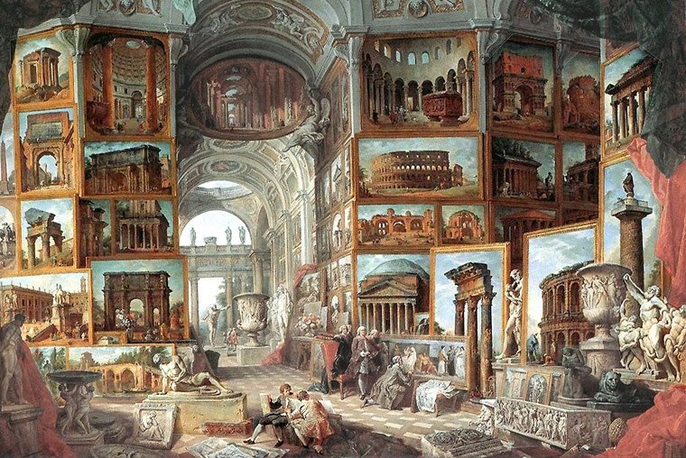 Pannini, Giovanni Paolo - Roma Antica - 1754-1757