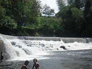 Villeta, Cundinamarca - Image: Panorámica de la Bocatoma