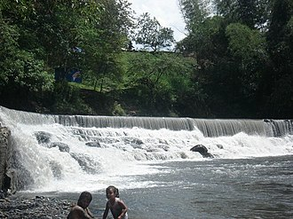 Villeta, Cundinamarca - Bocatoma waterfall in Villeta