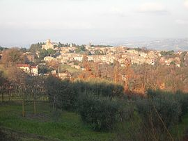 Panorama von Castel Viscardo