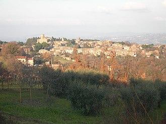 Castel Viscardo - Image: Panorama castelviscardo