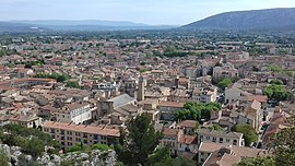 A view of Cavaillon