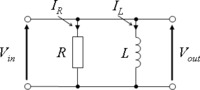 An RL parallel circuit