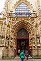 Paris (75004) Église Saint-Merri - Extérieur - Portail occidental.jpg