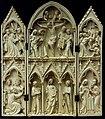 Paris -Musée national du Moyen-âge - Triptyque - Scène de l'enfance et de la Passion du Christ - 001.jpg