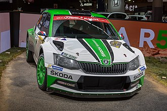 Group R - Škoda Fabia R5