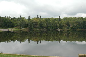 Huston Township, Clearfield County, Pennsylvania - Parker Lake at Parker Dam State Park