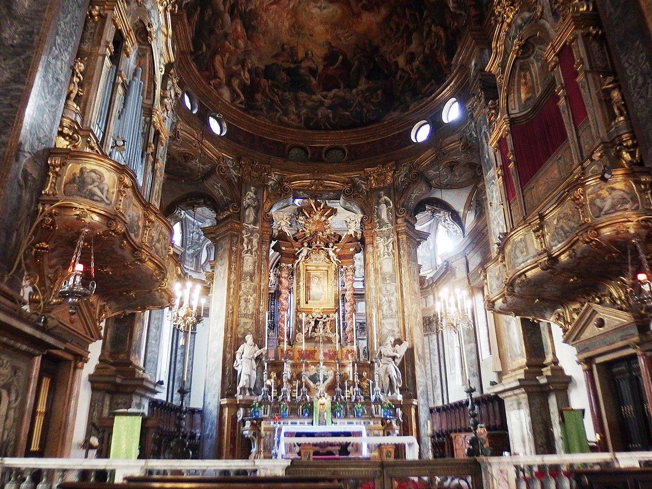 базилика святой марии парма, церкви парма