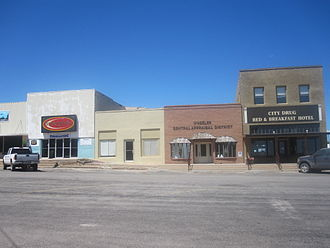 Wheeler, Texas - Image: Part of downtown square in Wheeler, TX IMG 6131