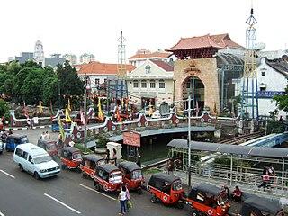 Pasar Baru Administrative village in DKI Jakarta, Indonesia