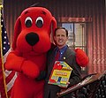 Pat Toomey and Clifford the Big Red Dog.jpg