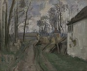 Paul Cézanne - A Village Road near Auver - 1948.120 - Yale University Art Gallery.jpg