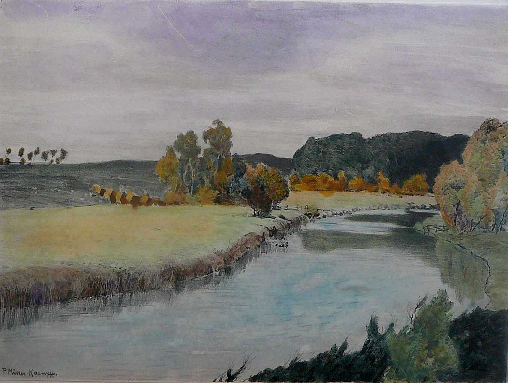 R Westermann Water Color Painting