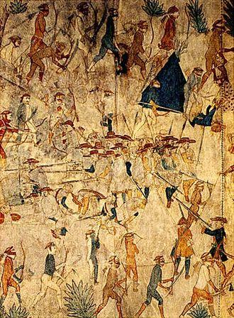 Villasur expedition - Image: Pawnee Villasur 1720