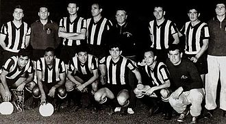 History of the Copa Libertadores - The Peñarol team that became the first ever champions of the competition.