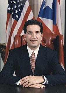 Pedro Rosselló Governor of the Commonwealth of Puerto Rico